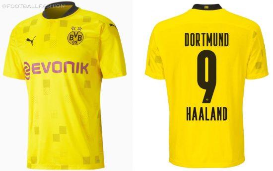 Borussia Dortmund 2020/21 PUMA Home Cup Football Kit, 2020-21 Soccer Jersey, 2020/21 Shirt, Trikot, Turniertrikot