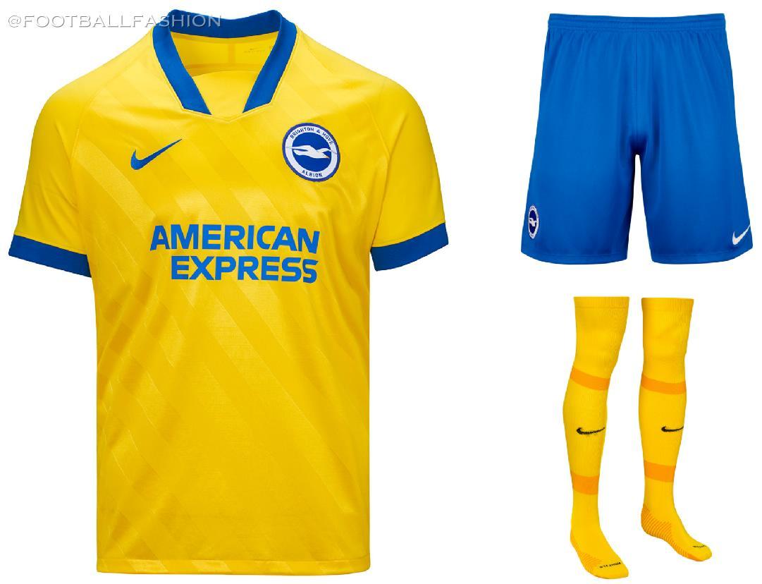 Brighton & Hove Albion 2020/21 Nike Away Kit - FOOTBALL FASHION