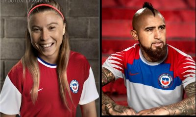 Chile 2020 2021 Nike Home and Away Football Kit, 2020/21 Soccer Jersey, 2020-21 Shirt, Camiseta
