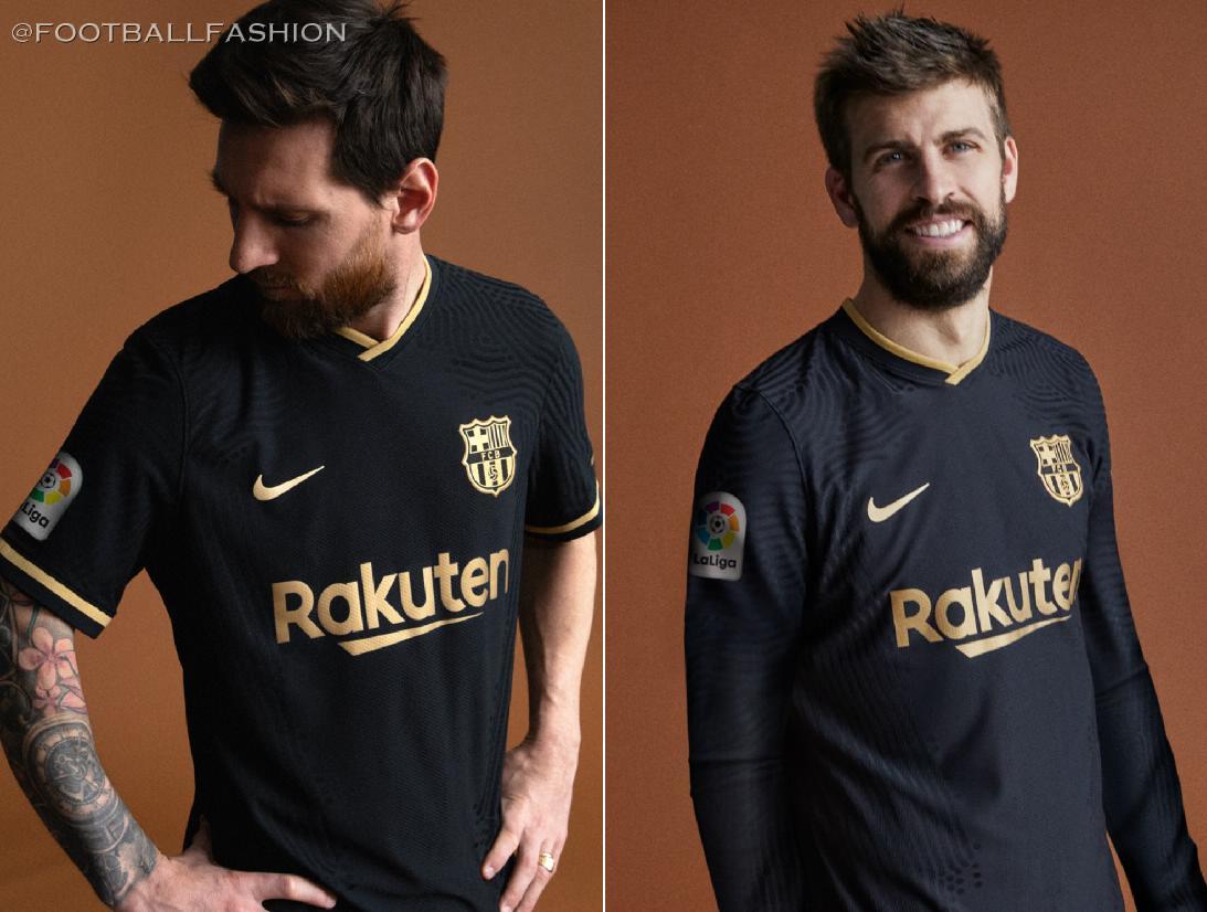 FC Barcelona 2020/21 Nike Away Kit - FOOTBALL FASHION