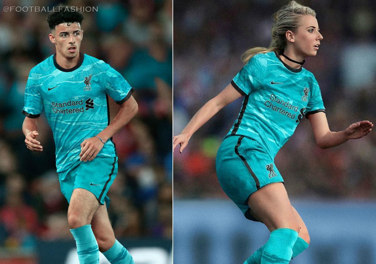 Liverpool Fc 2020 21 Nike Away Kit Football Fashion