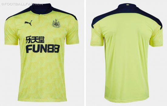 Newcastle United 2020 2021 PUMA Away and Third Football Kit, 2020-21 Soccer Jersey, 2020/21 Shirt, Maillot, Camisa, Camiseta