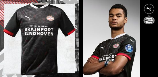 PSV Eindhoven 2020 2021 PUMA Third Football Kit, Soccer Jersey, 2020-21 Shirt, 2020/21 Derde