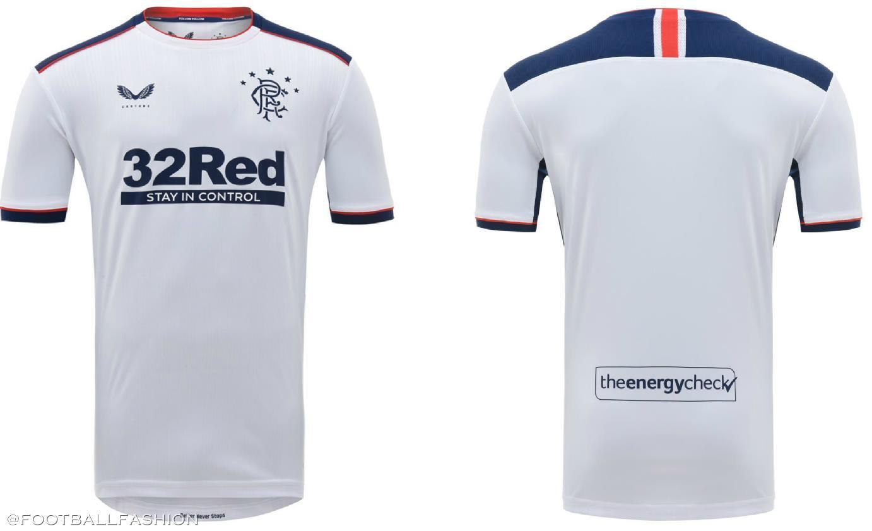 Rangers FC 2020/21 Castore Away Kit - FOOTBALL FASHION