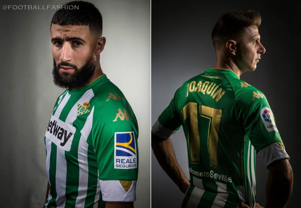 Real Betis 2020/21 Kappa Home 2020-21 Soccer Jersey, Football Kit, 2020 2021 Shirt, Camiseta de Futbol