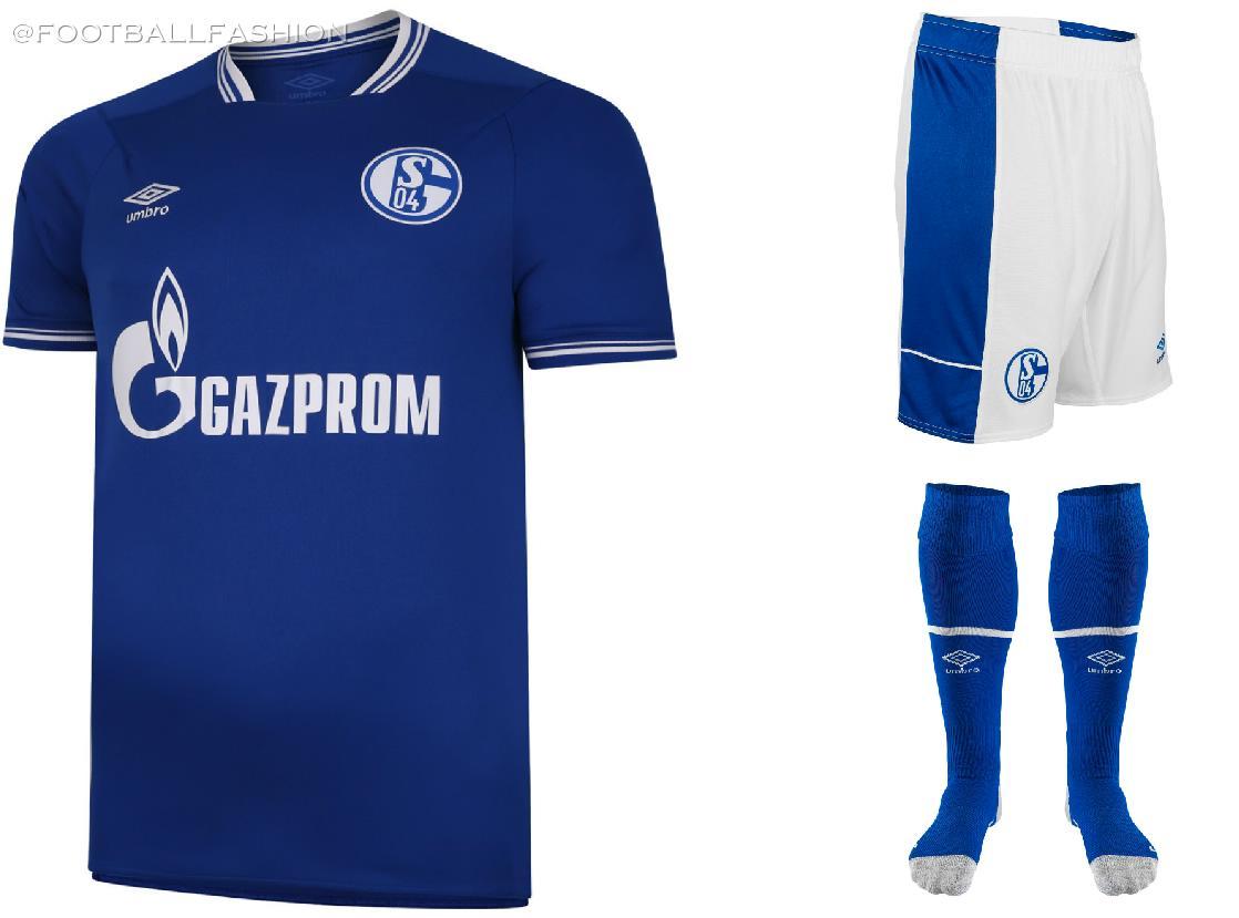 Schalke 04 2020/21 Umbro Home, Away and Third Jerseys - FOOTBALL ...