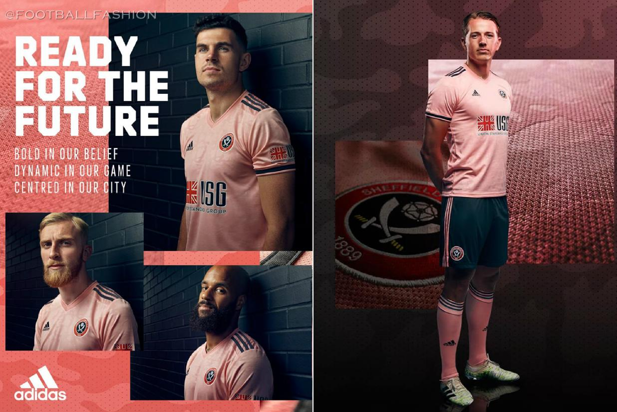 Sheffield United 2020 21 Adidas Away Kit Football Fashion Org