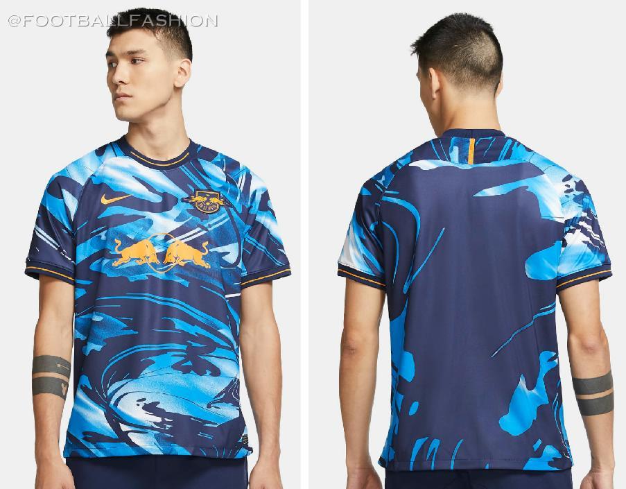 Rb Leipzig 2020 21 Nike Uefa Champions League Away Kit Football Fashion