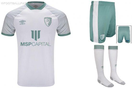 AFC Bournemouth 2020/21 Umbro Third Footballl Kit, 2020/21 Soccer Jersey, 2020-21 Shirt