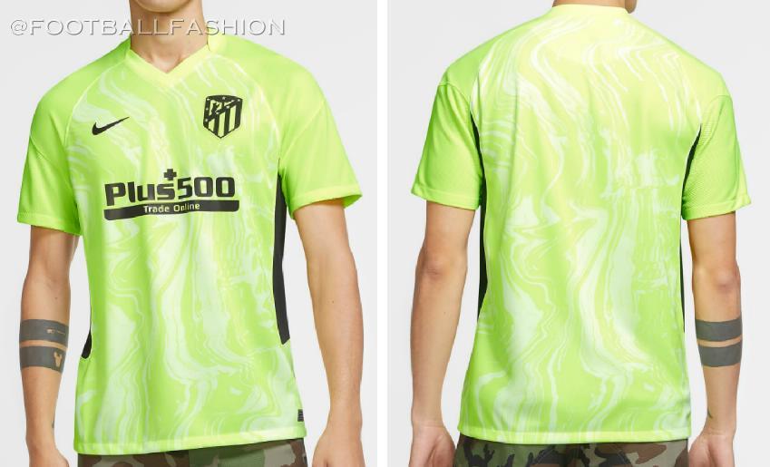 Atletico De Madrid 2020 21 Nike Third Kit Football Fashion