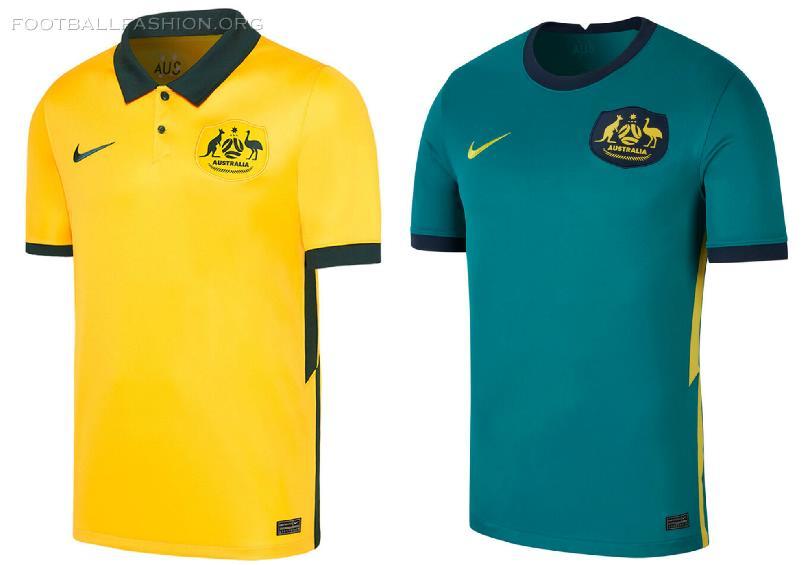Australia 2020/21 Nike Home and Away Kits - FOOTBALL FASHION