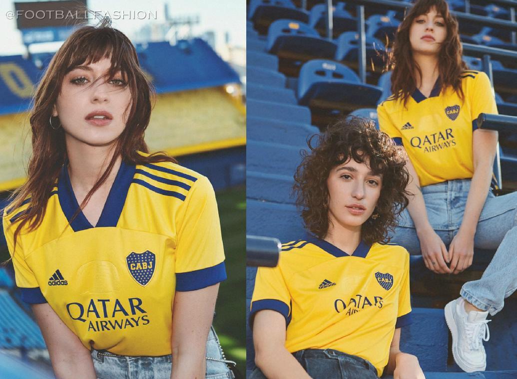 2020 Boca Juniors away third jersey