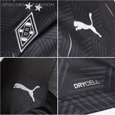 Borussia Mönchengladbach 2020 2021 PUMA Away Football Kit, 2020-21 Shirt, 2020/21 Soccer Jersey, Trikot, Auswärtstrikot