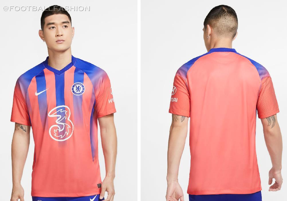 Chelsea Fc 2020 21 Nike Third Jersey Football Fashion
