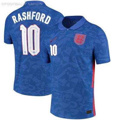 England 2020 2021 Nike Home and Away Football Kit, 2020/21 Soccer Jersey, 2020-21 Shirt, Maillot, Camisa, Camiseta, Trikot