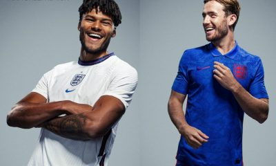 England 2020 2021 Nike Home and Away Football Kit, 2020/21 Soccer Jersey, 2020-21 Shirt, Maillot, Camisa, Camiseta, Trikot