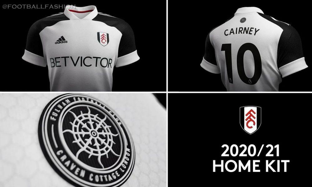 Fulham 2020/21 adidas Home and Away Kits - FOOTBALL FASHION