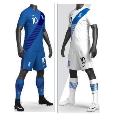 Greece 2020 2021 Nike Home and Away Soccer Jersey, 2020-21 Football Kit, 2020/21 Shirt