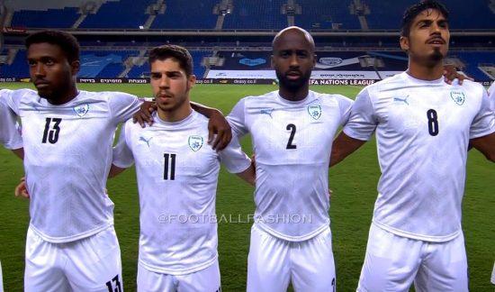 Israel 2020 2021 PUMA Home Football Kit, 2020/21 Soccer Jersey, 2020-21 Shirt