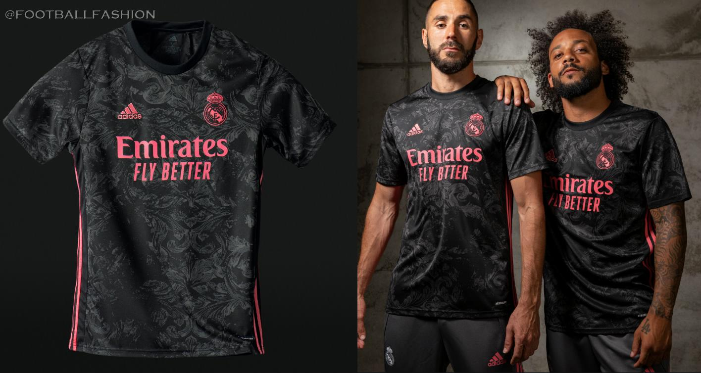 Real Madrid 2020/21 adidas Third Football Kit, 2020-21 Soccer Jersey, 2020/21 Shirt, Camiseta de Futbol, Camisa, Trikot, Maillot