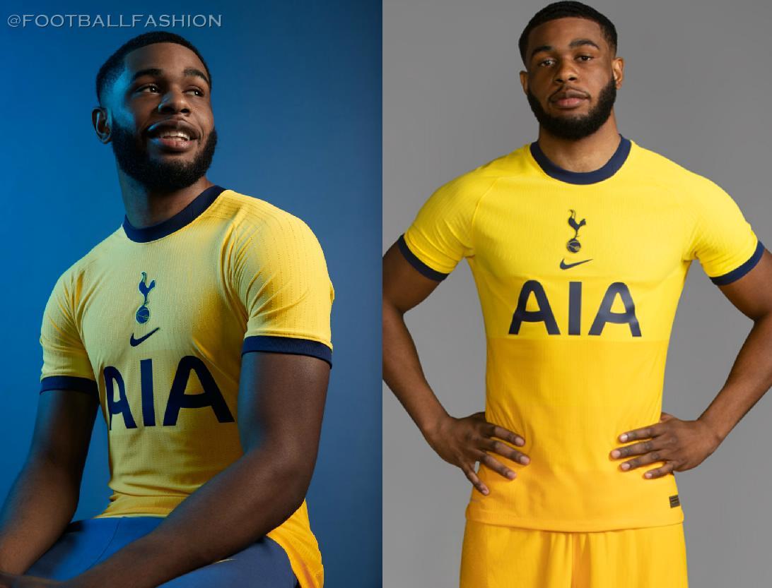 Tottenham Hotspur 2020 21 Nike Third Kit Football Fashion