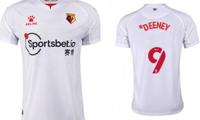 Watford 2020 2021 Kelme Away Kit, 2020-21 Football Kit, 2020/21 Soccer Jersey