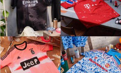 adidas x Humanrace 2020/21 Arsenal, 2020 Bayern, 2021 Juventus, 2-2020-21 Manchester United & Real Madrid Football Kit, Soccer Jersey, Shirt, Maglia, Trikot. Camiseta, Camisa
