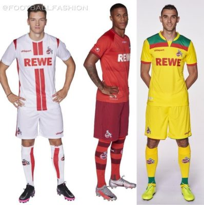 1. FC Köln 2020 2021 uhlsport Football Kit, 2020-21 Soccer Jersey, 2020/21 Shirt, Trikot
