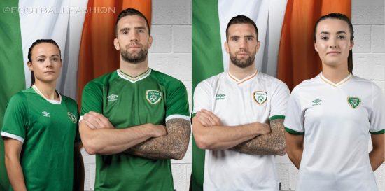 Republic of Ireland 2020 2021 Umbro Football Kit, 2020-21 Irish Shirt, 2020/21 Soccer Jersey