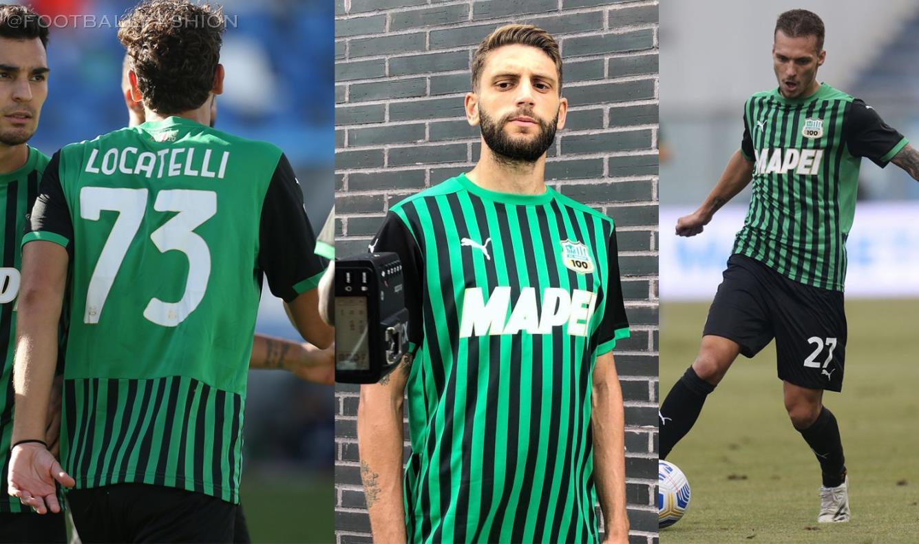Sassuolo 2020/21 PUMA Home and Away Kits - FOOTBALL FASHION