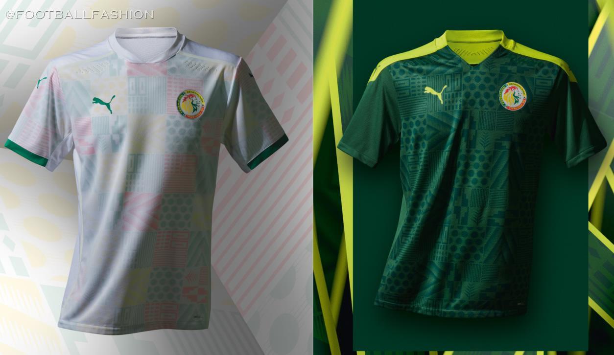 Senegal 2020/21 PUMA Home and Away Kits - FOOTBALL FASHION