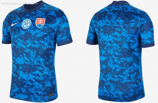 Slovakia 2020/21 Nike Home and Away Jerseys - FOOTBALL FASHION
