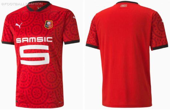 Stade Rennais 2020 2021 PUMA Home, Away and Third Football Kit, 2020-21 Maillot, 2020/21 Shirt, Soccer Jersey