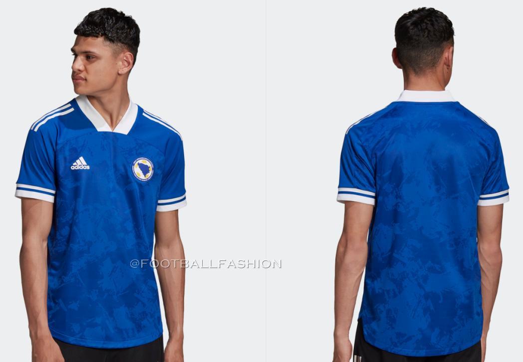 Bosnia and Herzegovina 2020/21 adidas Home and Away Kits ...