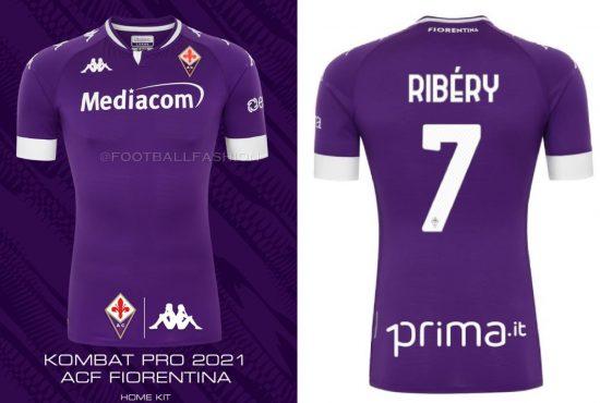 ACF Fiorentina 2020 2021 Kappa Football Kit, 2020-21 Soccer Jersey, 2020/21 Shirt, Gara, Maglia