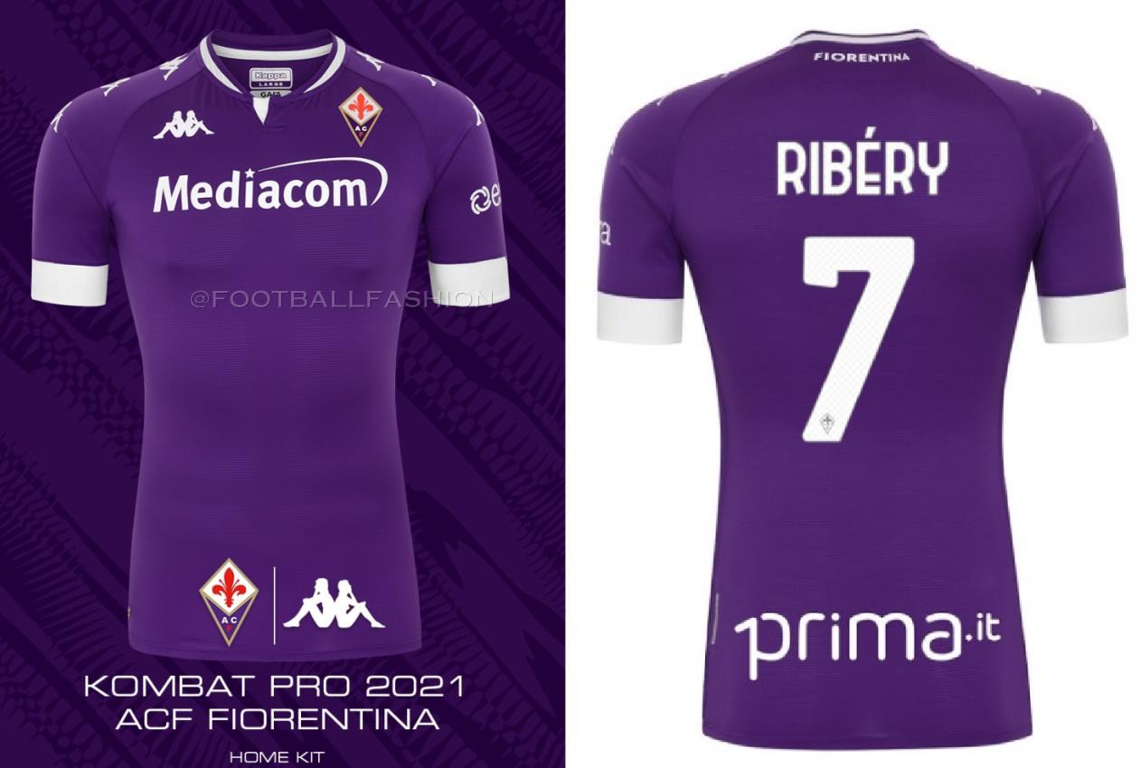 ACF Fiorentina 2020/21 Kappa Kits - FOOTBALL FASHION