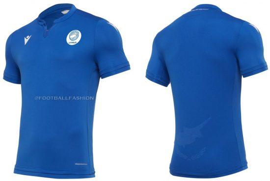 Cyprus 2020 2021 Macron Home and Away Football Kit, 2020-21 Soccer Jersey, 2020/21 Shirt
