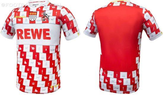 1. FC Köln 2020 2021 uhlsport Karneval Footballl Kit, 2020-21 Soccer Jersey, 2020/21 Shirt, Fastlovend Trikot