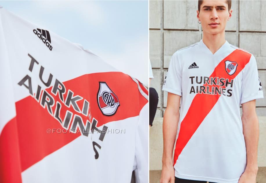 River Plate 2020/21 adidas Home Kit - FOOTBALL FASHION