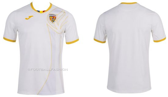 Romania 2021 Olympics Joma Home and Away Kits - FOOTBALL ...
