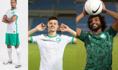 Saudi Arabia 2020 2021 Nike Home and Away Football Kit, 2020-21 Soccer Jersey, 2020/21 Shirt