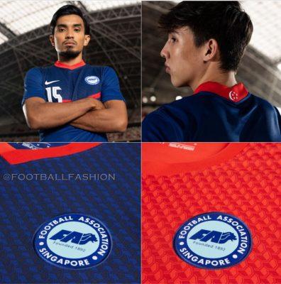 Singapore 2020 2021 Nike Home and Away Football Kit, 2020/21 Soccer Jersey, 2020-21 Shirt