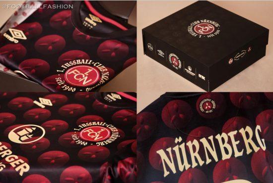 1. FC Nürnberg 2020 Umbro Christmas Soccer Jersey, Football Kit, Shirt, Trikot, Weihnachtstrikot