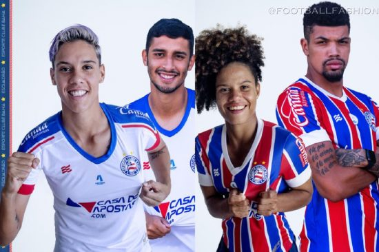 EC Bahia 2021 Home and Away Football Kit, Soccer Jersey, Shirt, Camisa