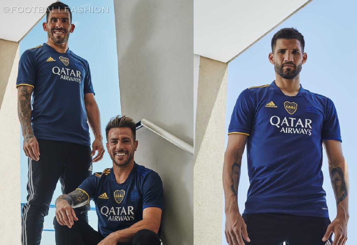 Boca Juniors 2020/21 adidas Fourth Kit - FOOTBALL FASHION