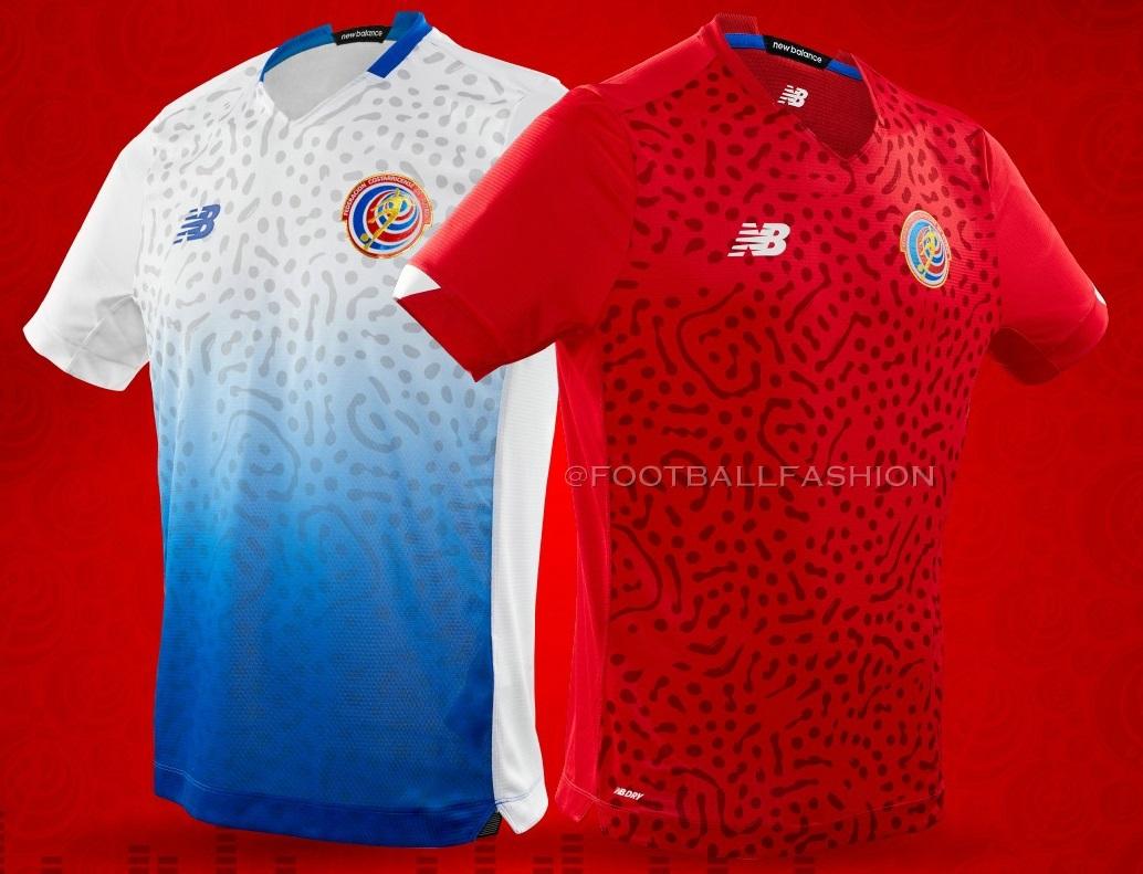 Costa Rica 2021 New Balance Home and Away Kits - FOOTBALL FASHION