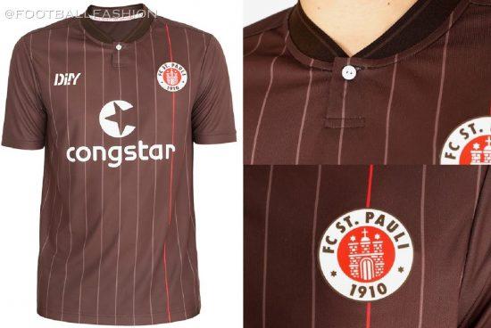 FC St. Pauli 2021/22 DIIY Home Football Kit, 2021 2022 Soccer Jersey, 2020-21 Shirt, Trikot, Heimtrikot