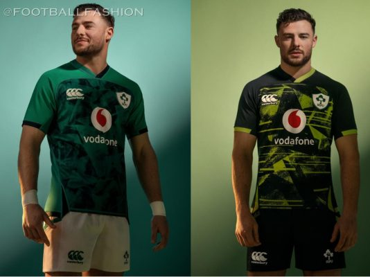 Ireland Rugby 2020 2021 Canterbury Home and Away Kit, 2020-21 Jersey, 2020/21 Shirt