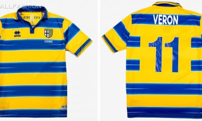 Reissue: Parma Calcio x Erreà 1998 1999 Home Football Kit, 2021 Soccer Jersey, Shirt, Maglia, Gara
