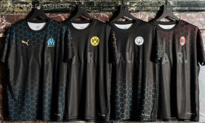 Manchester City, AC Milan, Borussia Dortmund & Olympique Marseille PUMA x BALR 2020 2021 Football Kit, 2020-21 Soccer Jersey, 2020/21 Shirt